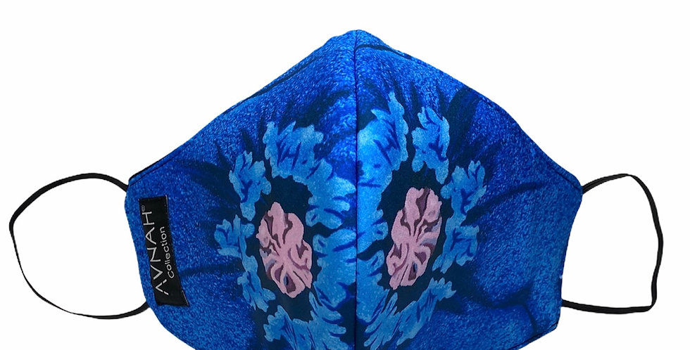 Traciee Floral Mask  (Elastic Placement around ears )