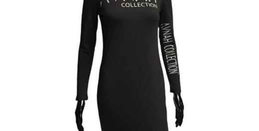 AVNAH Monogram Dress