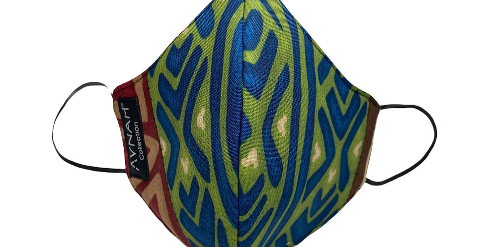 Accra Mask (Elastic Placement around ears )