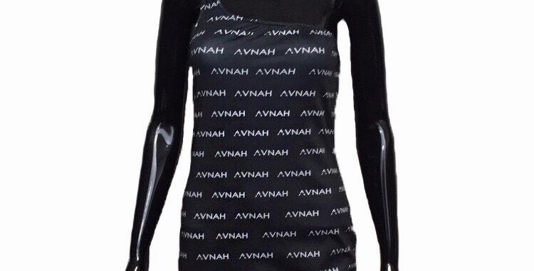 AVNAH Mongram Dress