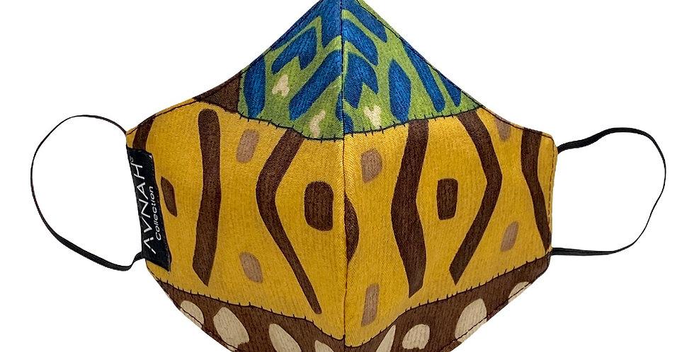 Aborigines Mask (Elastic Placement around ears )
