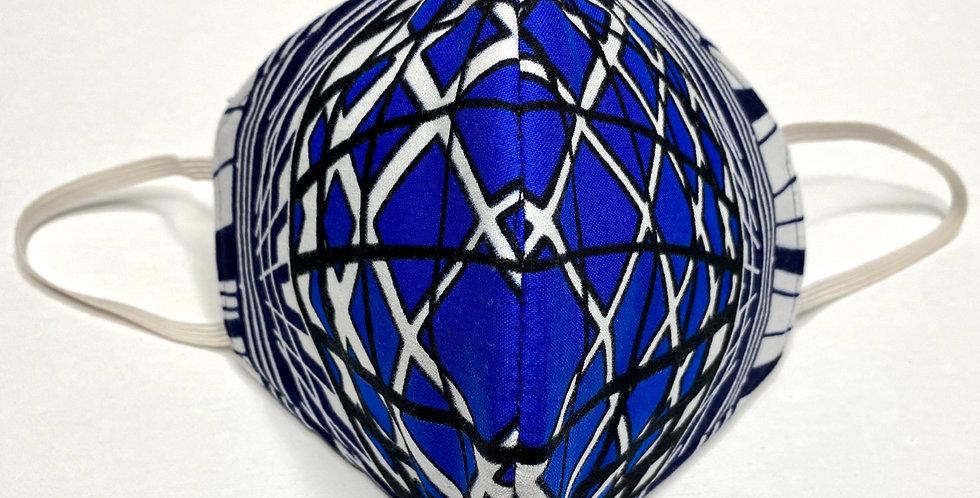 Fabric Face Mask / Horizon Blue