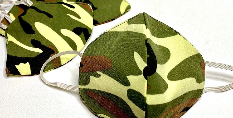 Fabric Face Mask / Camouflage