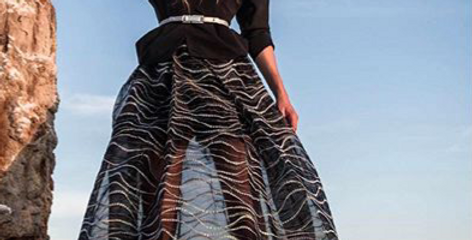 Mega Wave Skirt