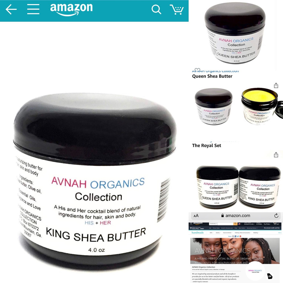 AVNAH Organics online on Amazon.com