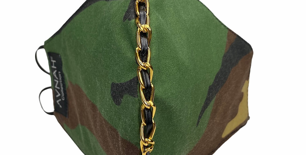 Camo link Mask (Elastic placement around the head)