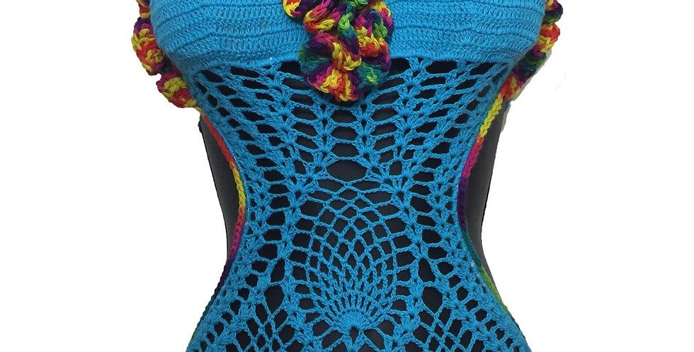 Tropical Bomb Crochet Swimsuit
