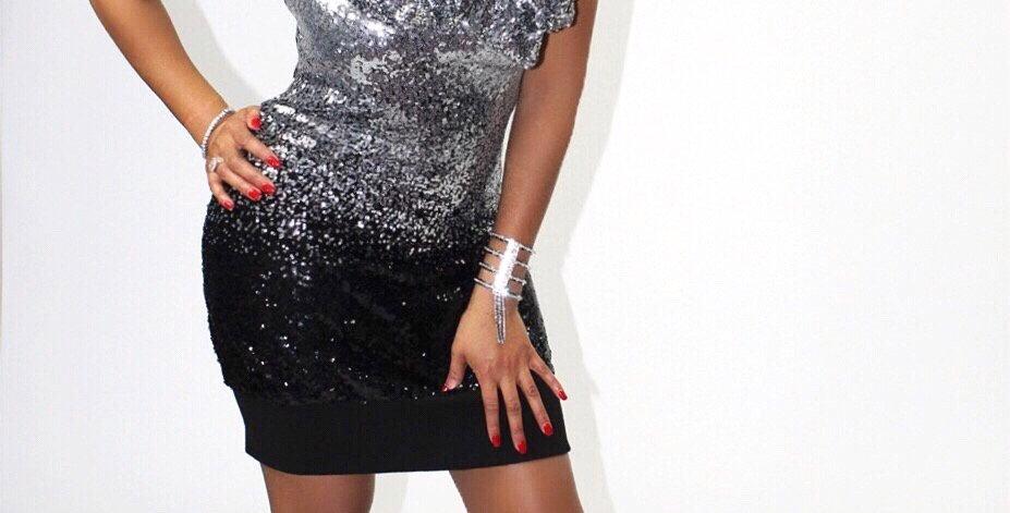 Double dose sequins dress