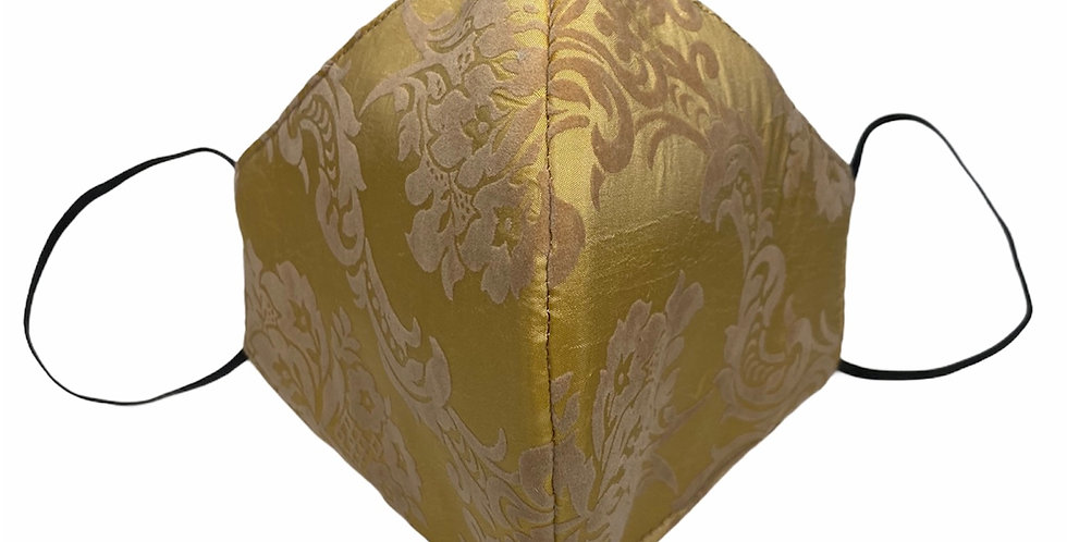 Golden Veil Mask  (Elastic Placement around ears )