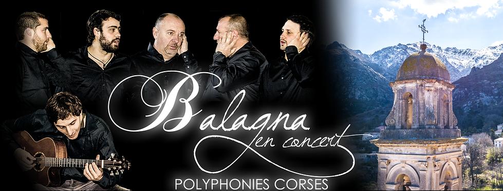 Le groupe Balagna Polyphonie Corse