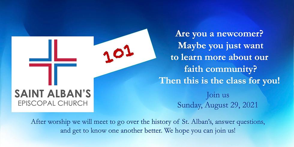 St. Alban's 101 Class