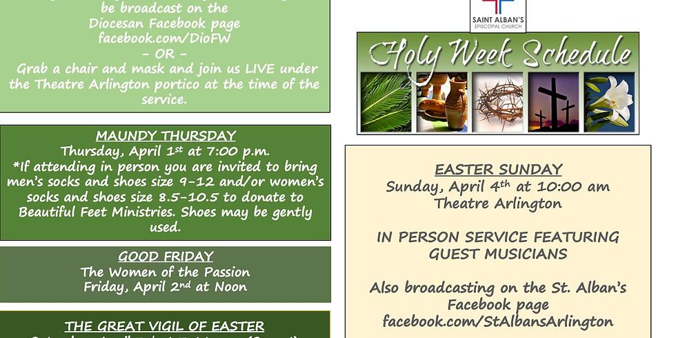 Holy Week 2021