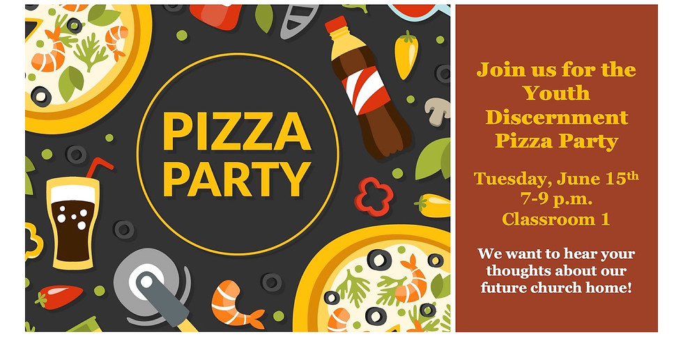Youth Discernment Pizza Party