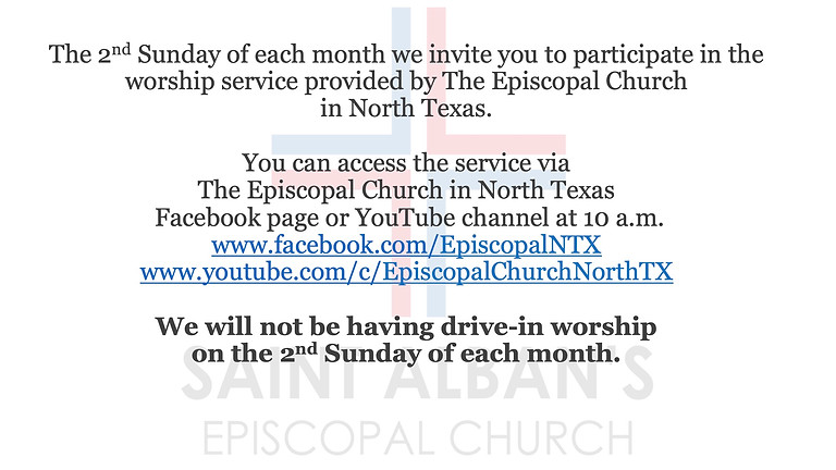 Second Sundays: The Episcopal Church in North Texas