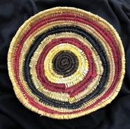 Pandanus basket made by Rebecca Yantarrnga from Groote Eylandt