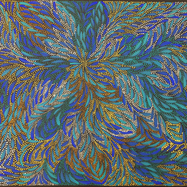 'Seeded Bush Medicine Flowers' by Caroline Numina