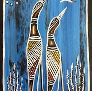 'Jabiru Dreaming' by Jack Roe
