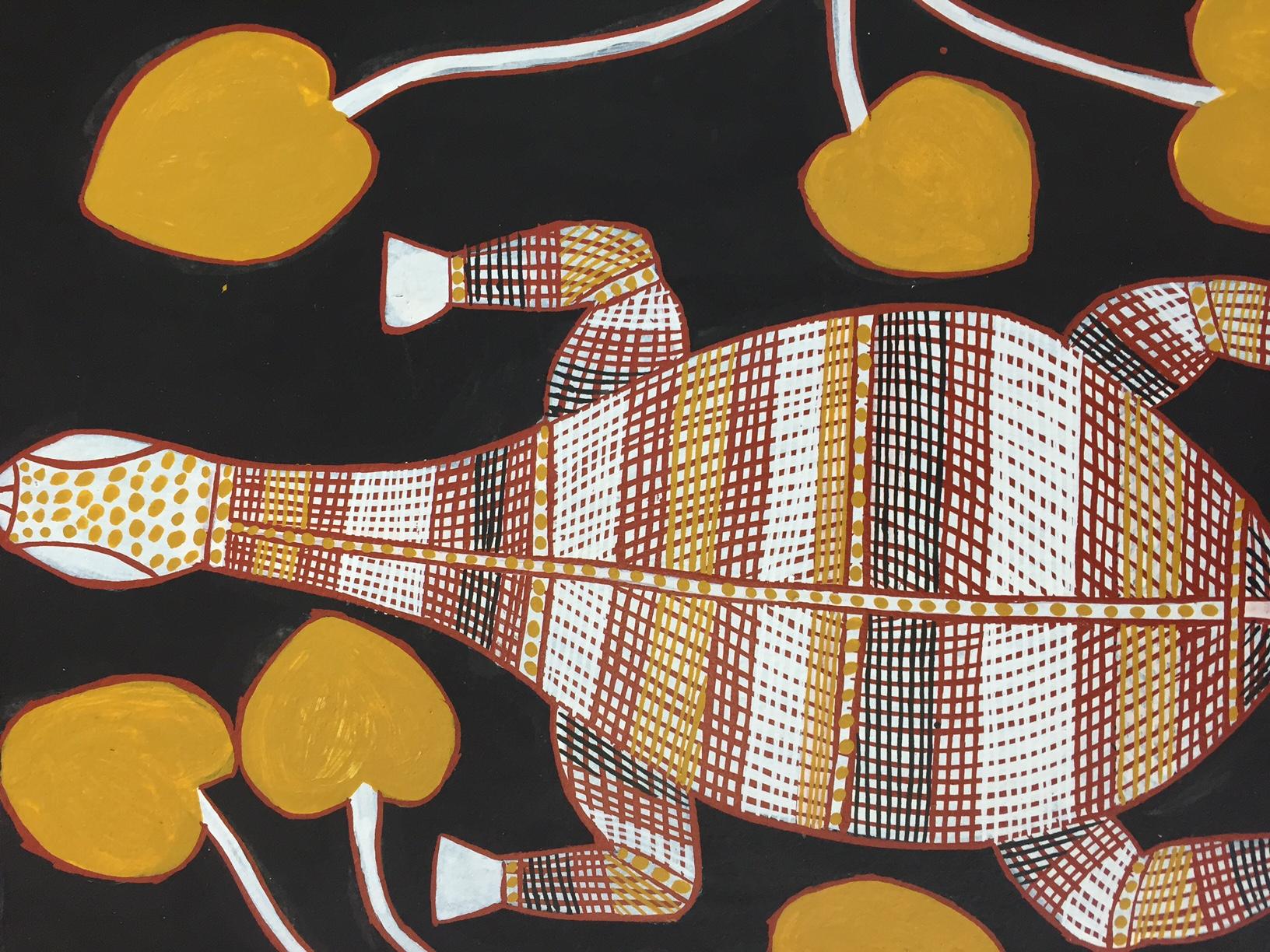 Long-neck tortoise (detail)