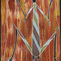 'Namarrkon' (the Lightning Spirit) by Warrick Kelly