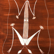 'Namarrkon (The Lightning Spirit)' by Ivan Namarnyilk