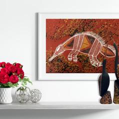 'Echidna' by Maath Maralngurra