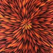 'Bush Medicine Leaves' (detail) by Sharon Numina