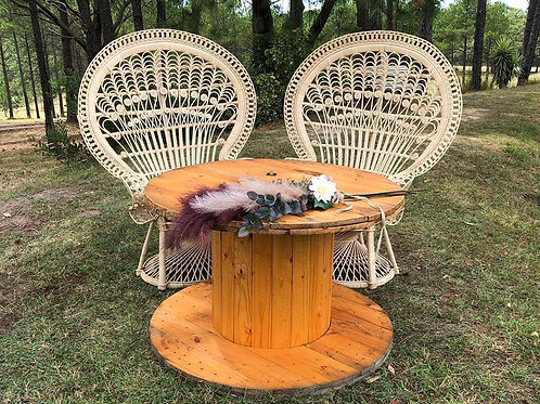 Peacock Chair - HIRE ONLY