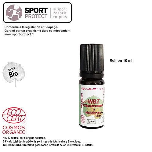 WBZ CICATRAUMA - Hélichryse - Soin Peau - BIO - Sérum- Roll-on 10 ml