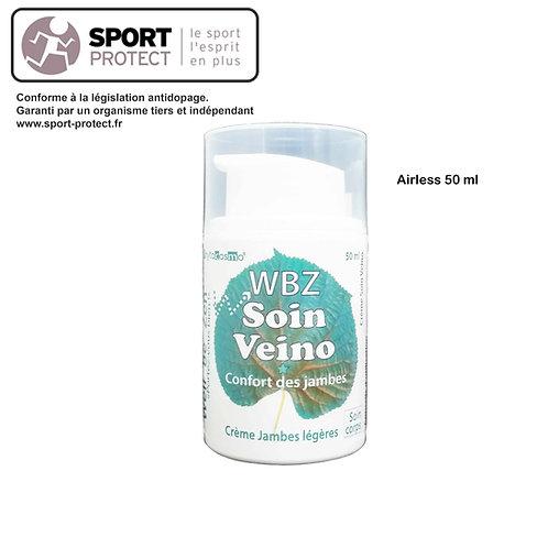 WBZ SOIN VEINO - Jambes légères - Crème - Airless 50 ml