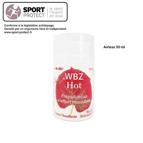 WBZ HOT - Crème chauffante - Prépa & Récup - Effort Musculaire - Crème - 50 ml