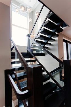 contemporary staircase
