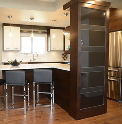 Privacy Kitchen dividing wall