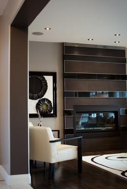 fireplace tile design