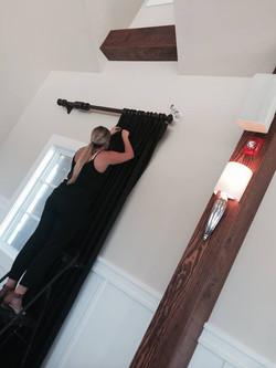 drapery install