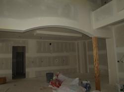 curved ceiling design