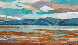 Tomales Bay, Blue and Orange