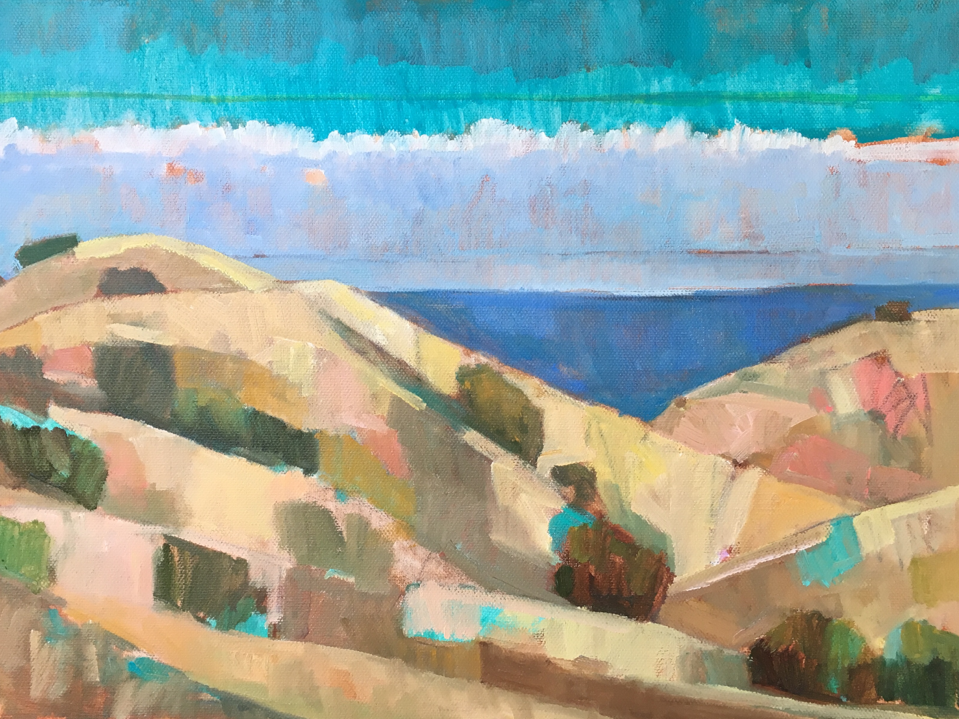 California Summer Sketch