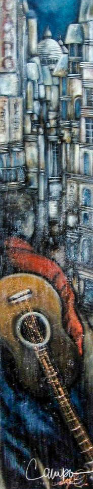 Un musicien dans Montmarte 48x18.jpg