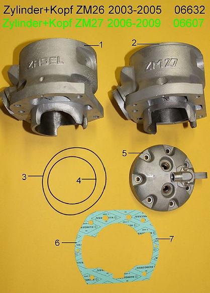 07_cylinder head 700ccm ZM29 + ZM27 2006