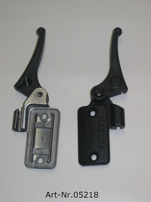 decompression lever with cover plate