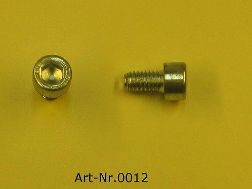 Allen screw M6x10 mm