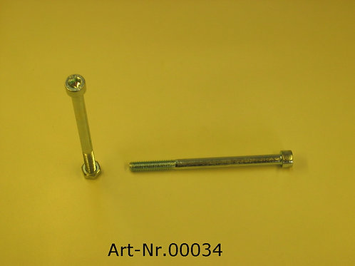 Allen screw M6x80 mm