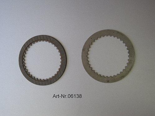 clutch plate 1 side kevlar