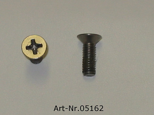 screw for cover plate M4x12 mm