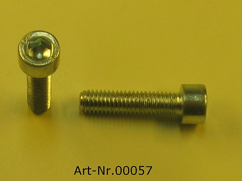Allen screw M6x25 mm