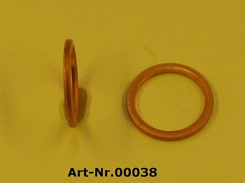 Copper washer for oil drain plug