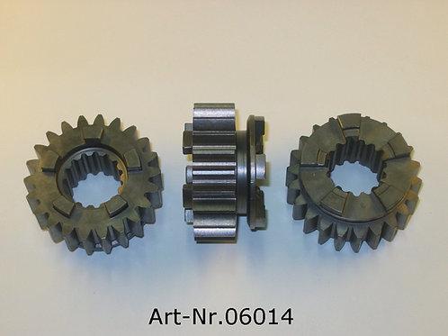 gear wheel 3.gaer 22 teeth drive