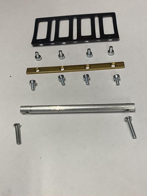 mounting kit for intake reeds