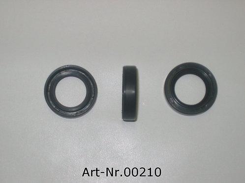 radial shaft seal for kick starter