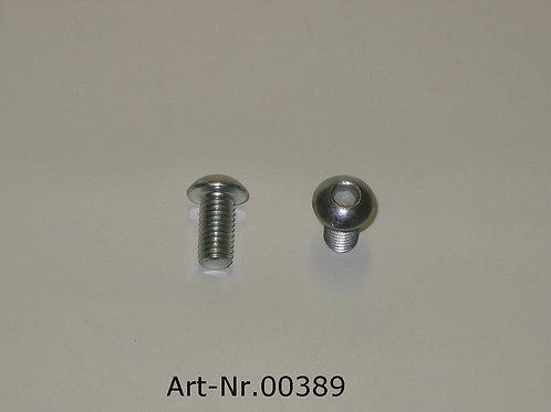oval-head screw M8x16 mm ISO 7380